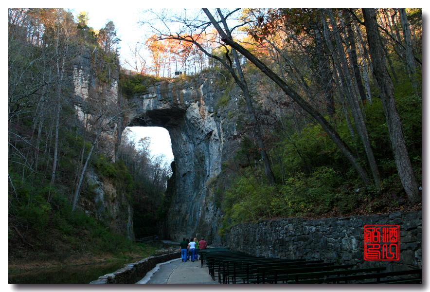 《原创摄影》:弗吉尼亚的天然桥_图1-2