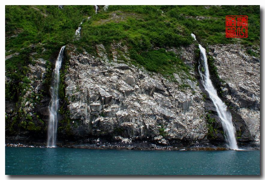 《原创摄影》:万年寒冰的纹理:梦中的阿拉斯加之十二_图1-3
