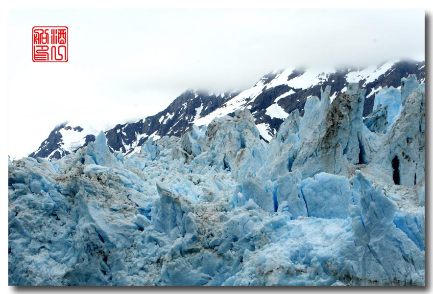 《原创摄影》:万年寒冰的纹理:梦中的阿拉斯加之十二_图1-36