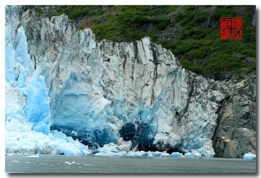 《原创摄影》:万年寒冰的纹理:梦中的阿拉斯加之十二_图1-40