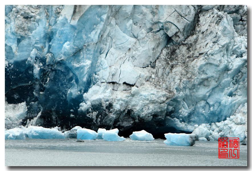 《原创摄影》:万年寒冰的纹理:梦中的阿拉斯加之十二_图1-41