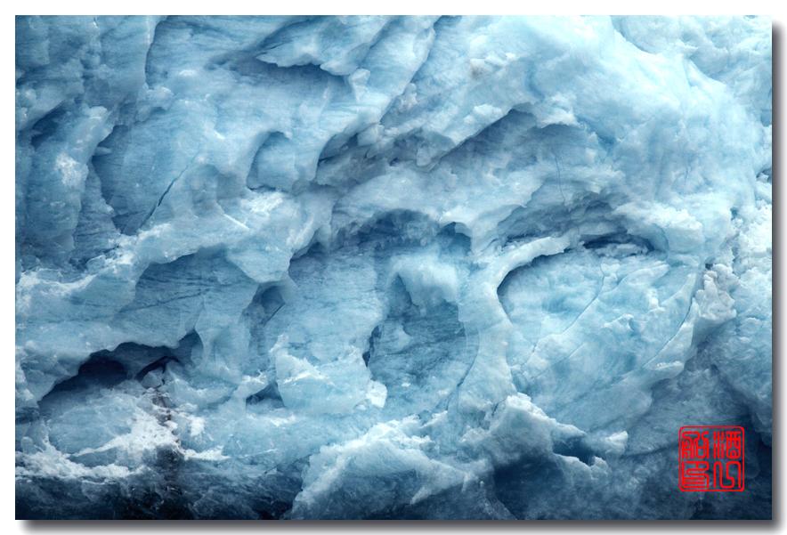 《原创摄影》:万年寒冰的纹理:梦中的阿拉斯加之十二_图1-50