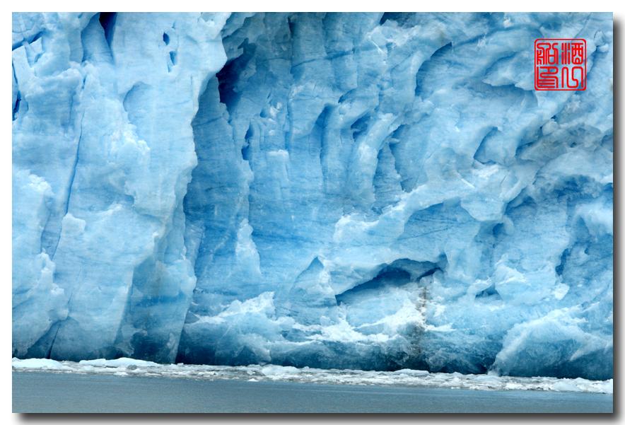 《原创摄影》:万年寒冰的纹理:梦中的阿拉斯加之十二_图1-1