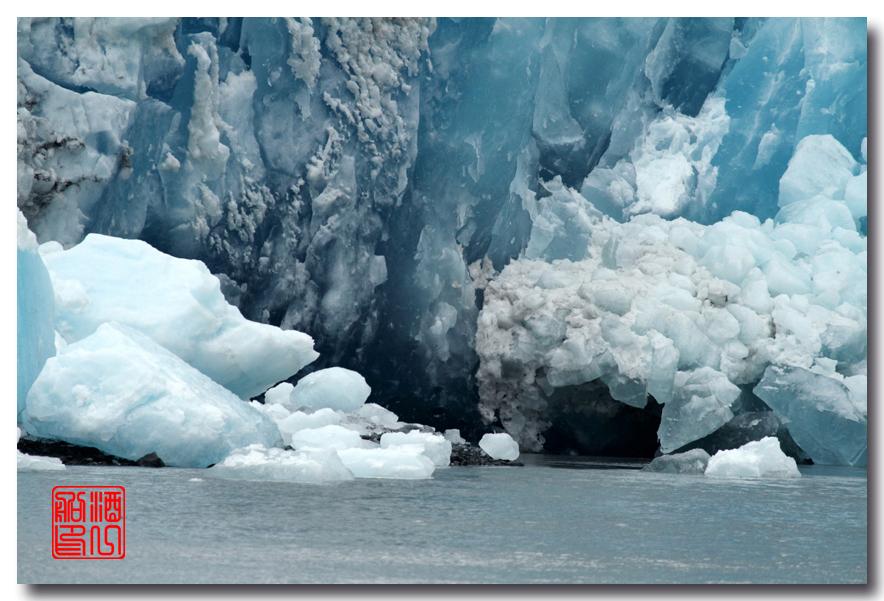 《原创摄影》:万年寒冰的纹理:梦中的阿拉斯加之十二_图1-44
