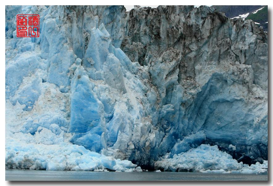 《原创摄影》:万年寒冰的纹理:梦中的阿拉斯加之十二_图1-39