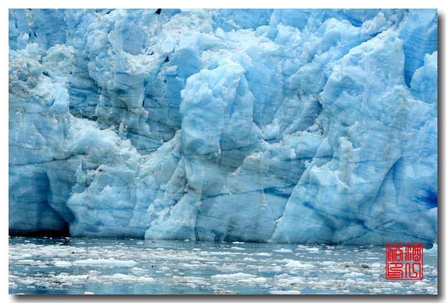 《原创摄影》:万年寒冰的纹理:梦中的阿拉斯加之十二_图1-52
