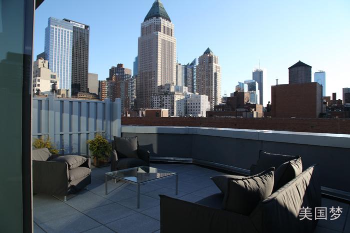 纽约看楼记——曼哈顿中城西区全新住宅_图1-13