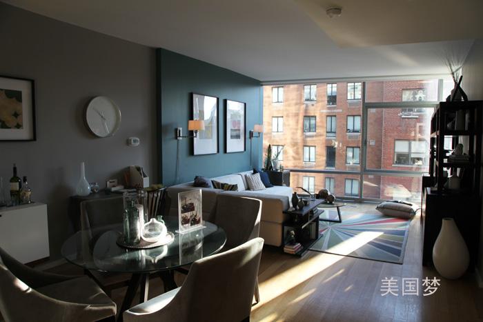 纽约看楼记——曼哈顿中城西区全新住宅_图1-15