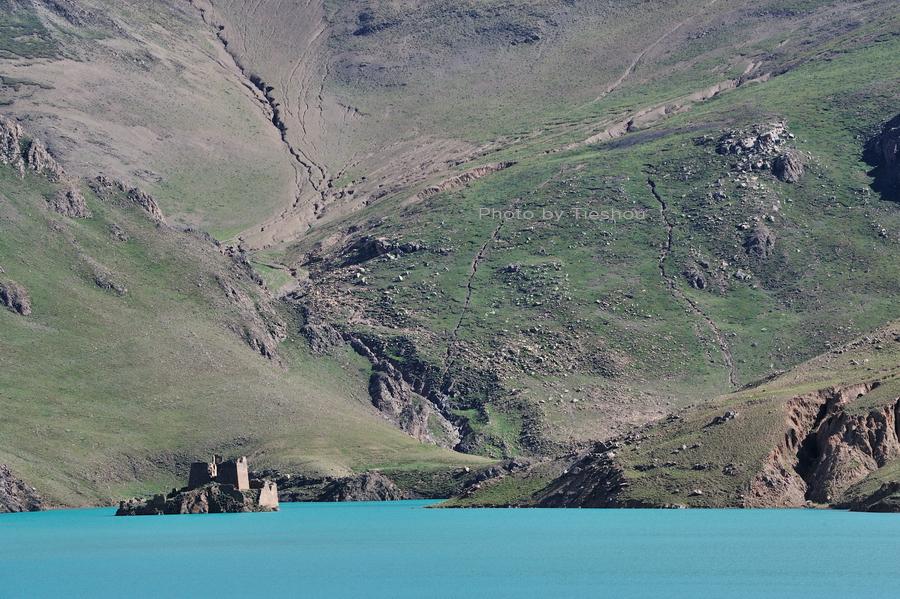 回望东方——洁白的冰川和绽蓝的湖水[原创]_图1-2