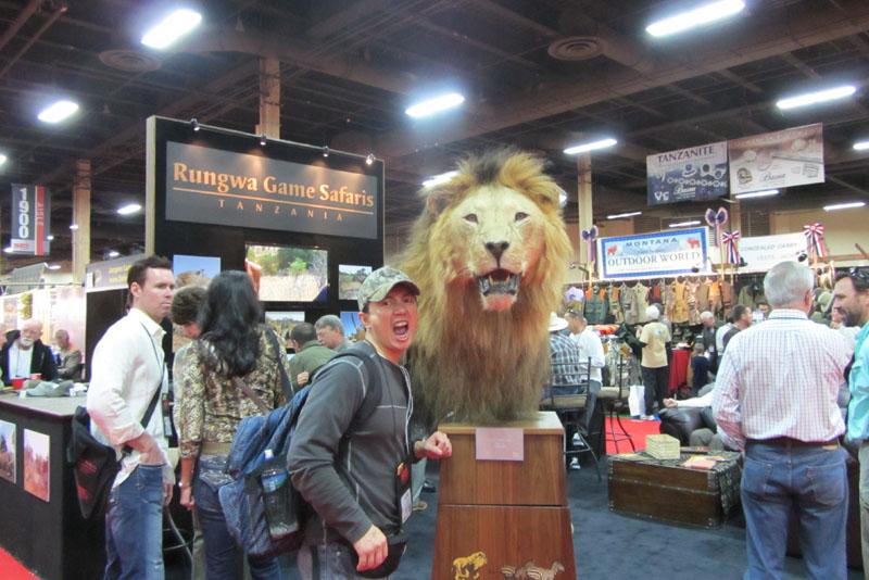 《国际顶级狩猎展一瞥》摆渡_图1-2