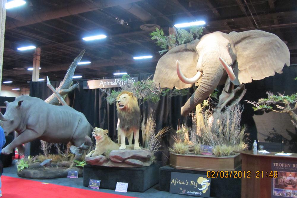 《国际顶级狩猎展一瞥》摆渡_图1-6