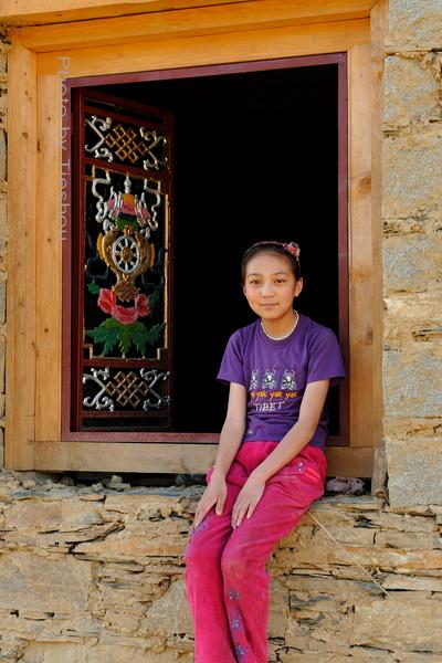 回望东方——诺言,和藏族姑娘小卓玛[原创]_图1-3