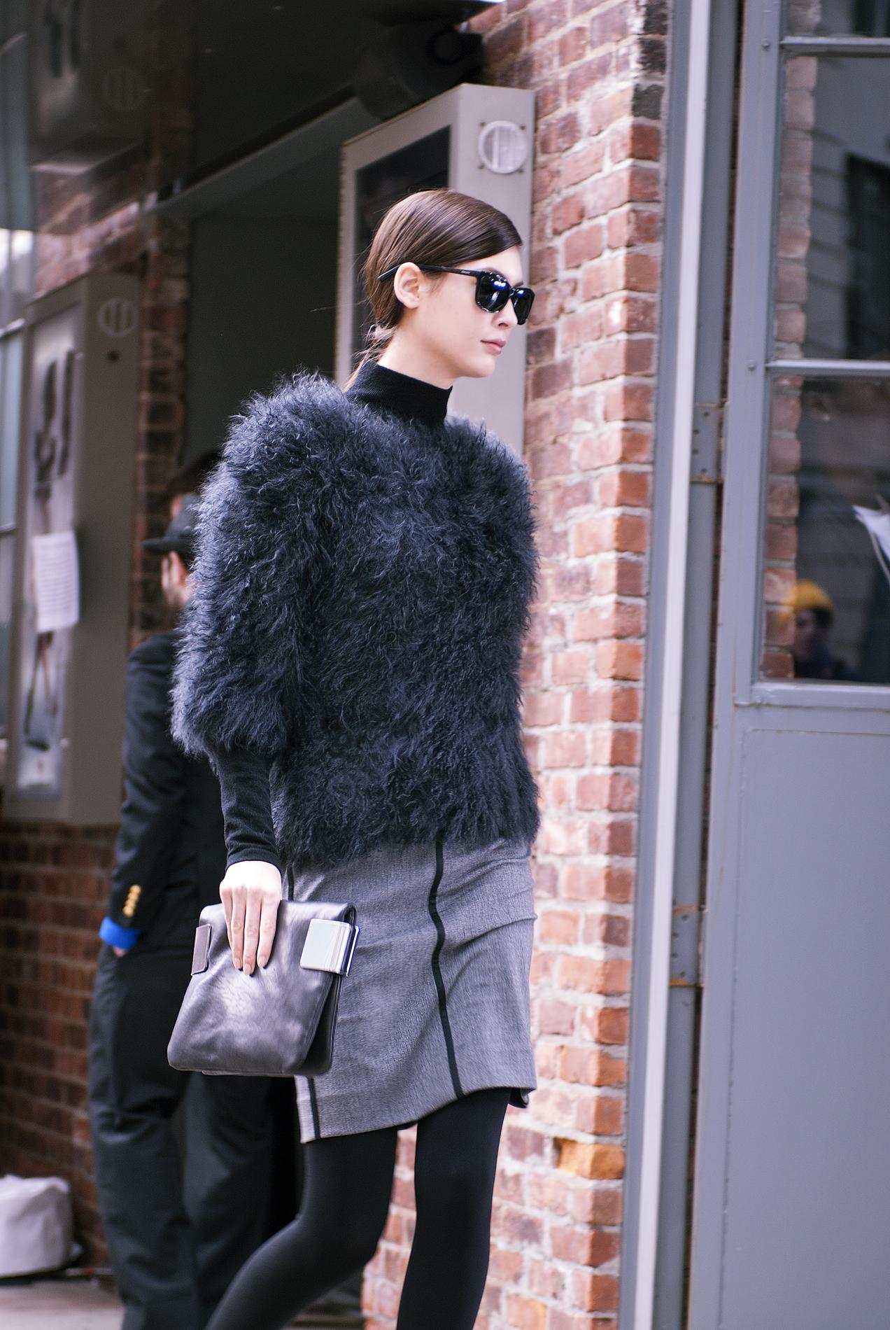 (原创摄影)2012纽约秋冬时装周街拍_图1-10