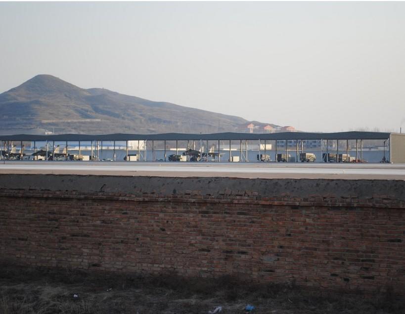 解放军大量装备有源相控阵雷达的歼11在辽西部署_图1-4