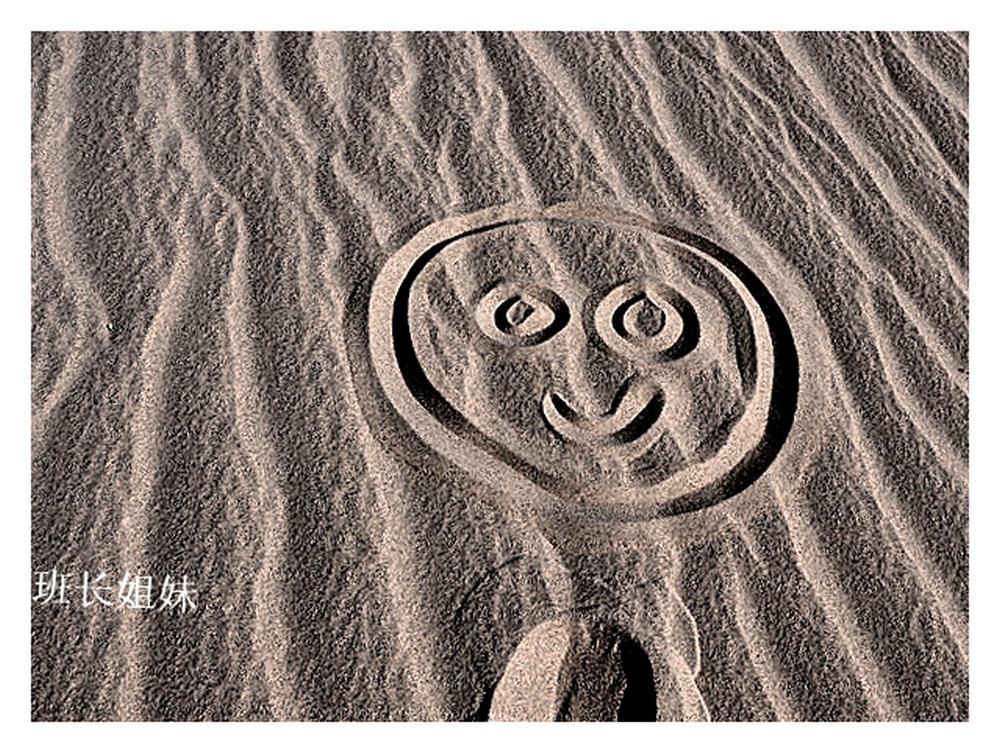王正鹏:极简主义沙漠绘画代表画作《班长肖像画》