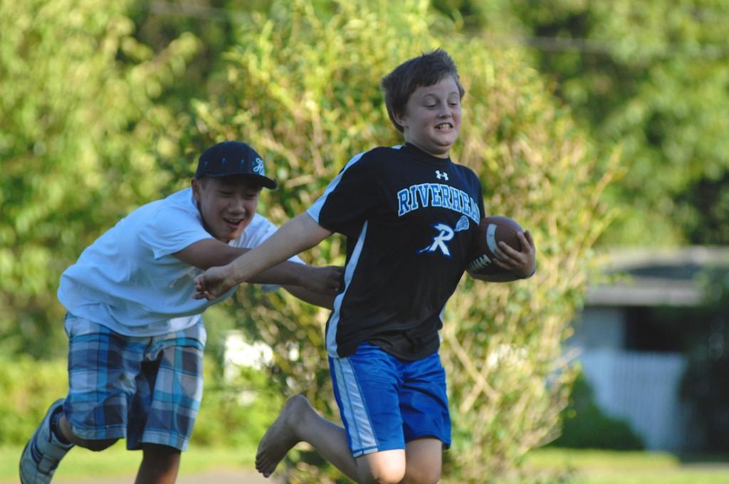 美國小孩最熱衷的戶外運動-美式足球_图1-14