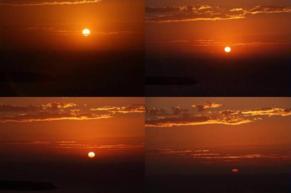 在圣托里尼看日落_图1-3