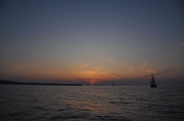 在圣托里尼看日落_图1-5