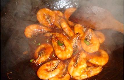 看着就想吃的美味——番茄沙司版油焖大虾_图1-7