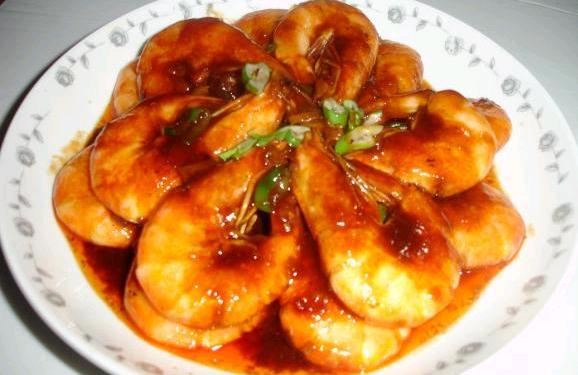 看着就想吃的美味——番茄沙司版油焖大虾_图1-9