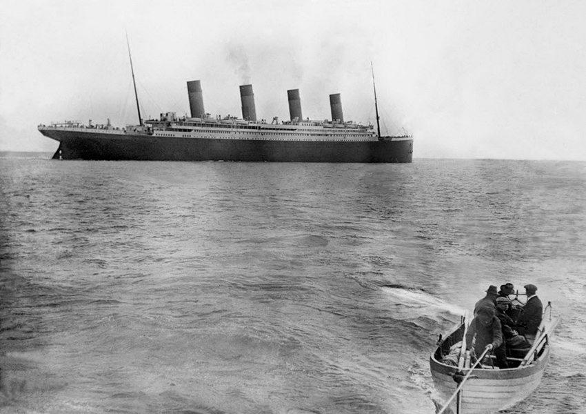 """绝版照:沉没前的""""泰坦尼克""""_图1-1"""