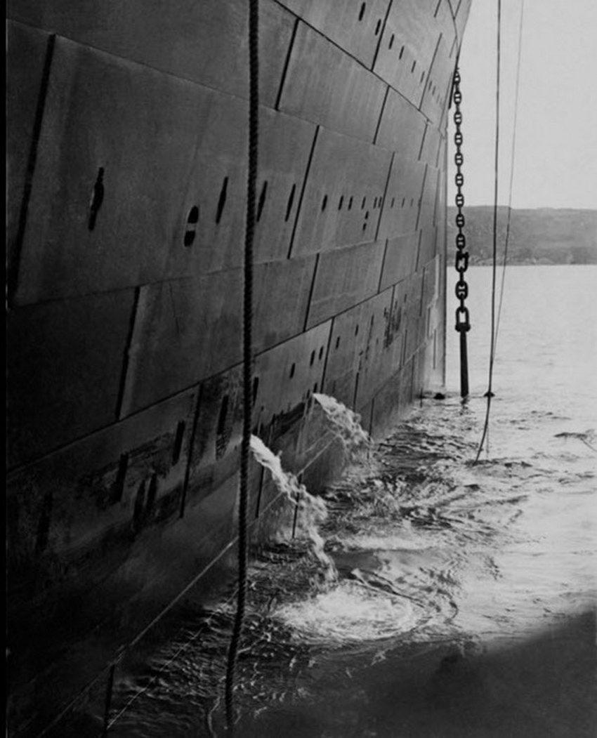 """绝版照:沉没前的""""泰坦尼克""""_图1-15"""