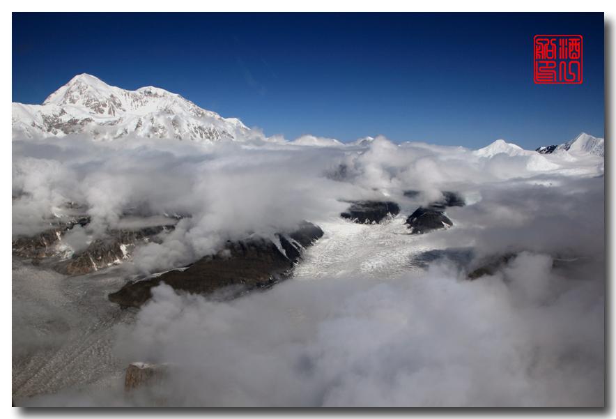 《原创摄影》:雪域飞天丹那力(1)- 梦中的阿拉斯加之十七 ... ... ... ... ... ...  ..._图1-17