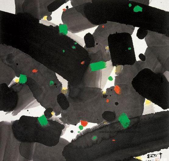 纽约吴冠中画展:形式主义大师_图1-9