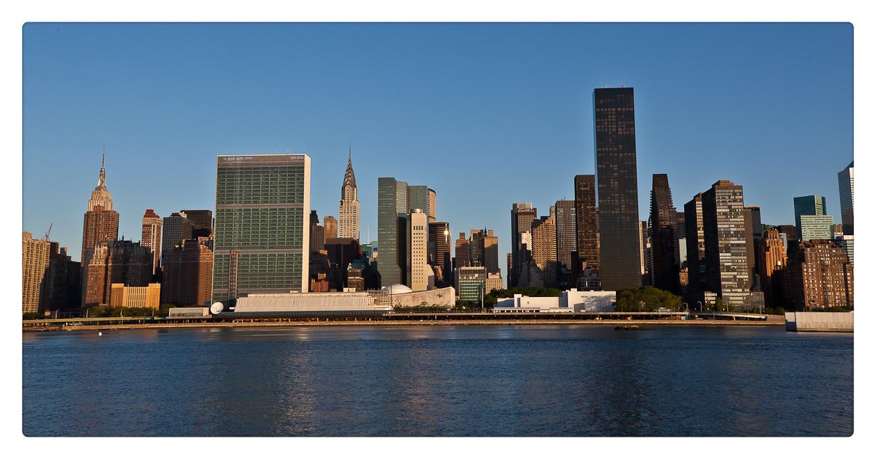 纽约长岛市江边风景_图1-1
