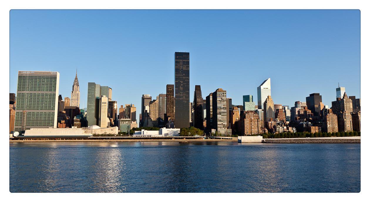 纽约长岛市江边风景_图1-3