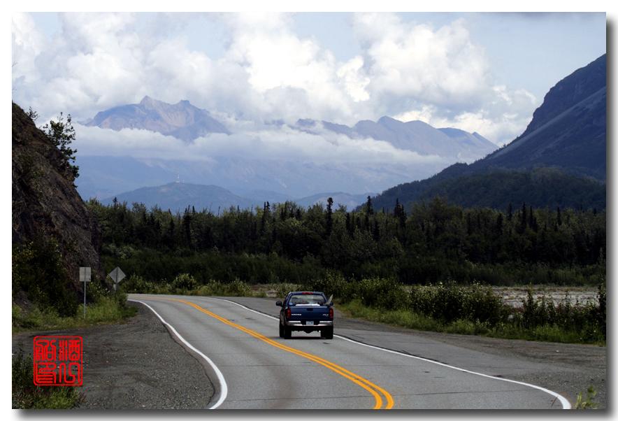 《原创摄影》:观景公路,景观如画:梦中的阿拉斯加之十九 ... ... ... ..._图1-2