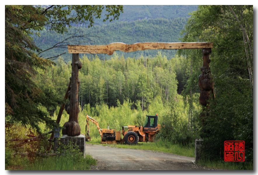 《原创摄影》:观景公路,景观如画:梦中的阿拉斯加之十九 ... ... ... ..._图1-11