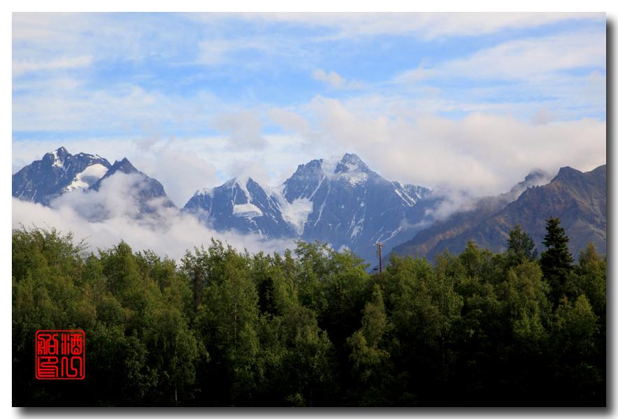 《原创摄影》:观景公路,景观如画:梦中的阿拉斯加之十九 ... ... ... ..._图1-12