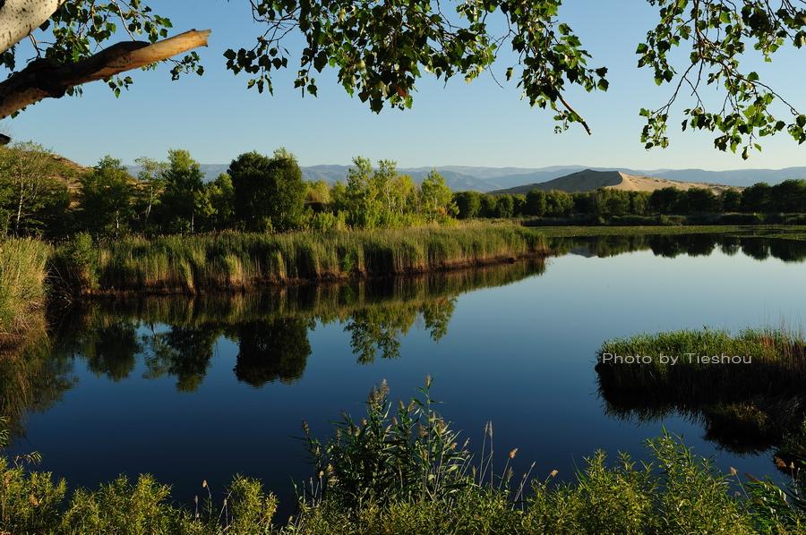 大美新疆——哈巴河的暮色[原创]_图1-9