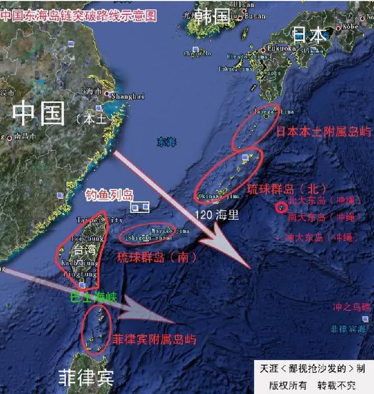 台湾实际控制岛屿