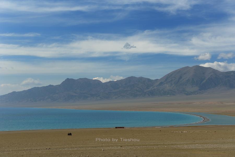 大美新疆——塞里木湖边牧羊人[原创]_图1-15