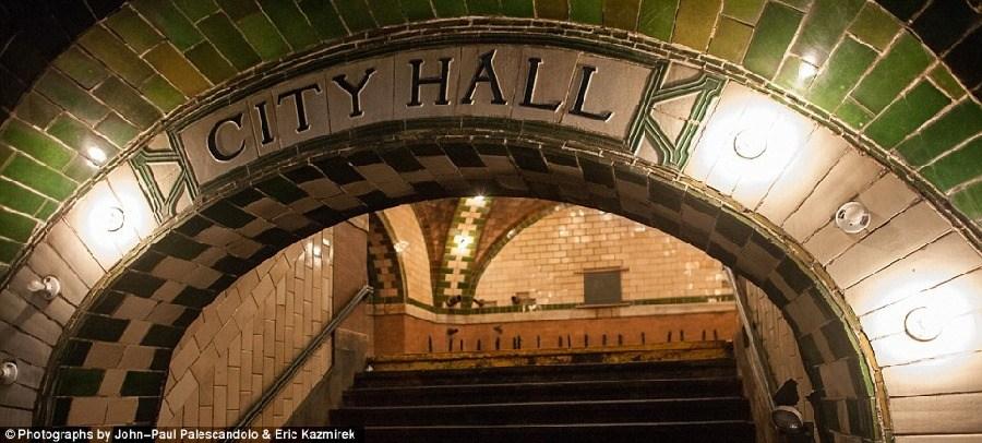 美轮美奂,纽约废弃的地铁站_图1-2
