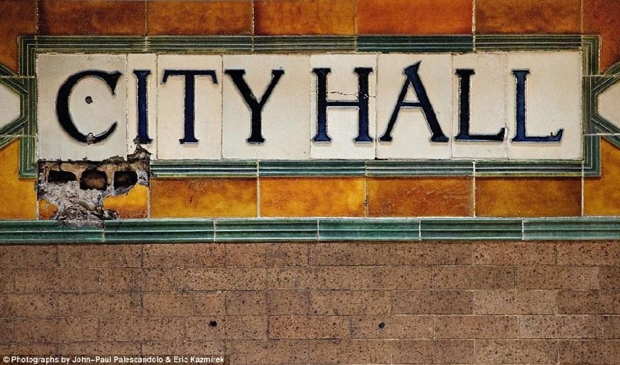 美轮美奂,纽约废弃的地铁站_图1-3