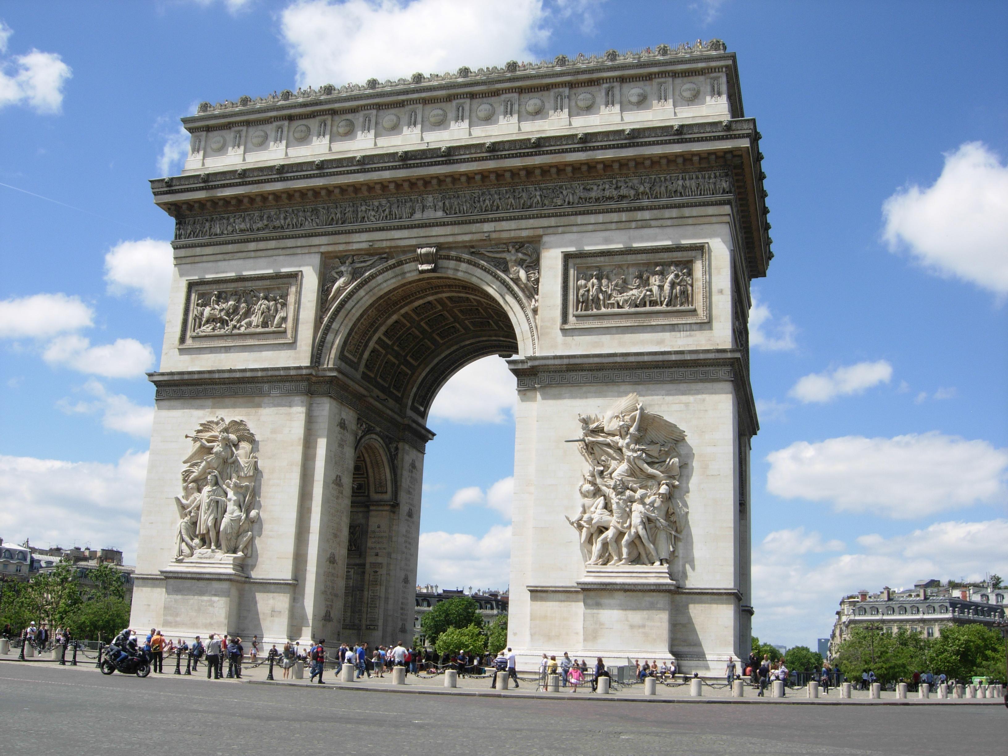 文化巴黎的魅力——卢浮宫、凯旋门……_图1-11