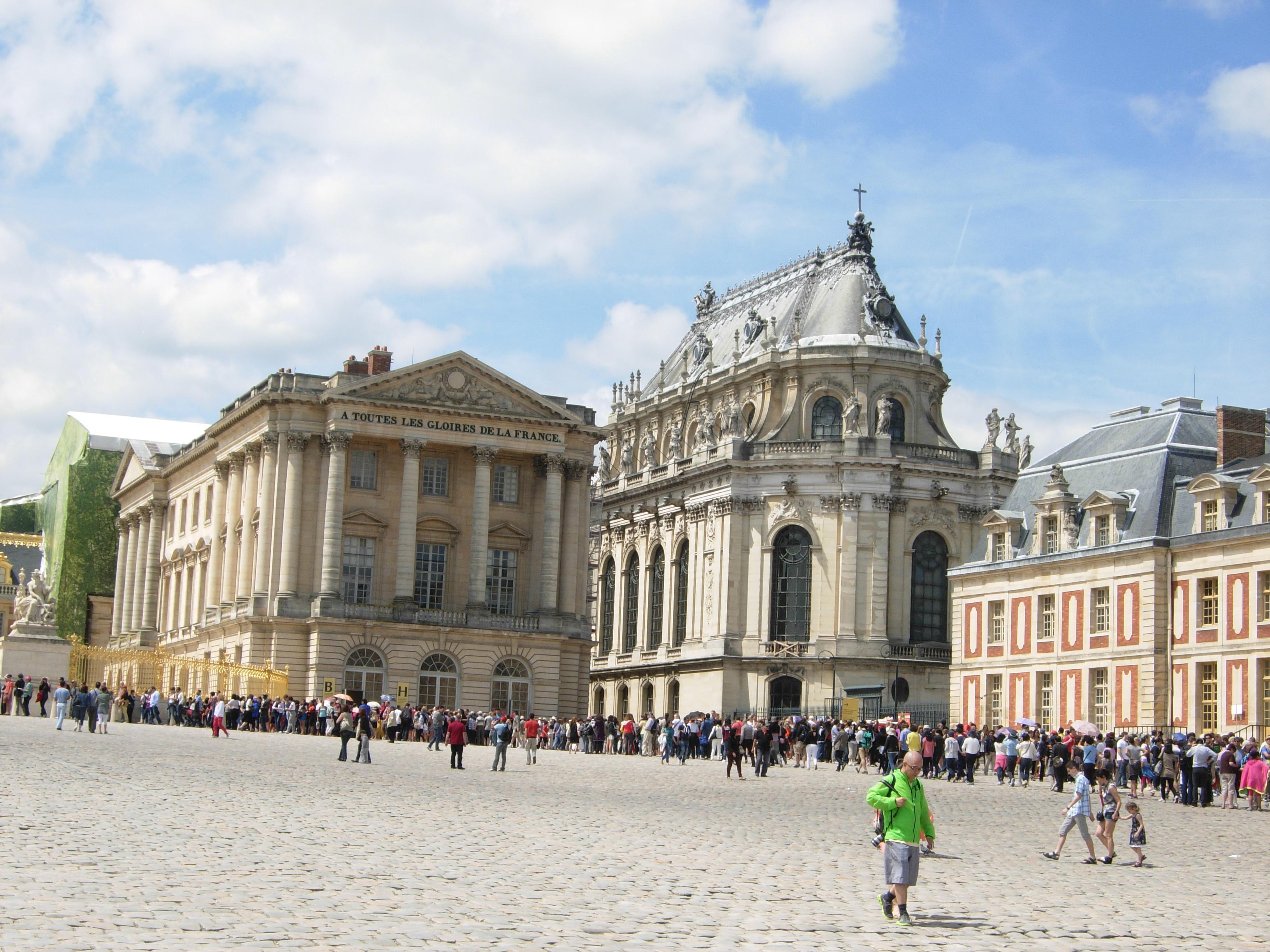 文化巴黎的魅力——凡尔赛宫_图1-2