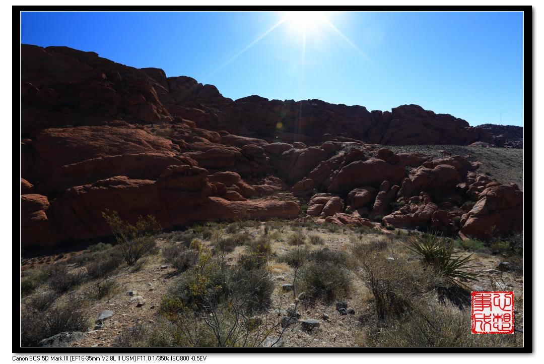 【心想事成】Red Rock Canyon 红石峡谷之旅_图1-4