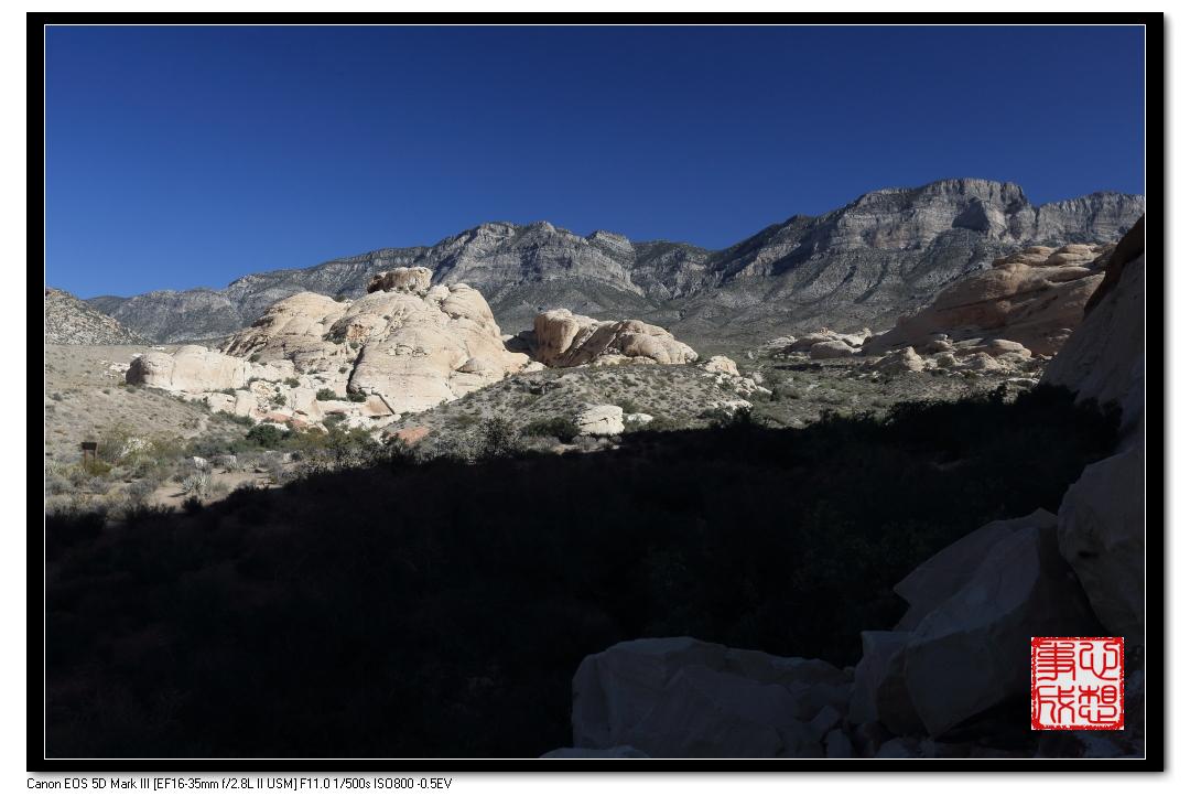 【心想事成】Red Rock Canyon 红石峡谷之旅_图1-5