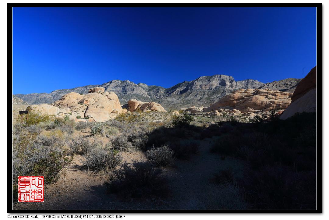 【心想事成】Red Rock Canyon 红石峡谷之旅_图1-8