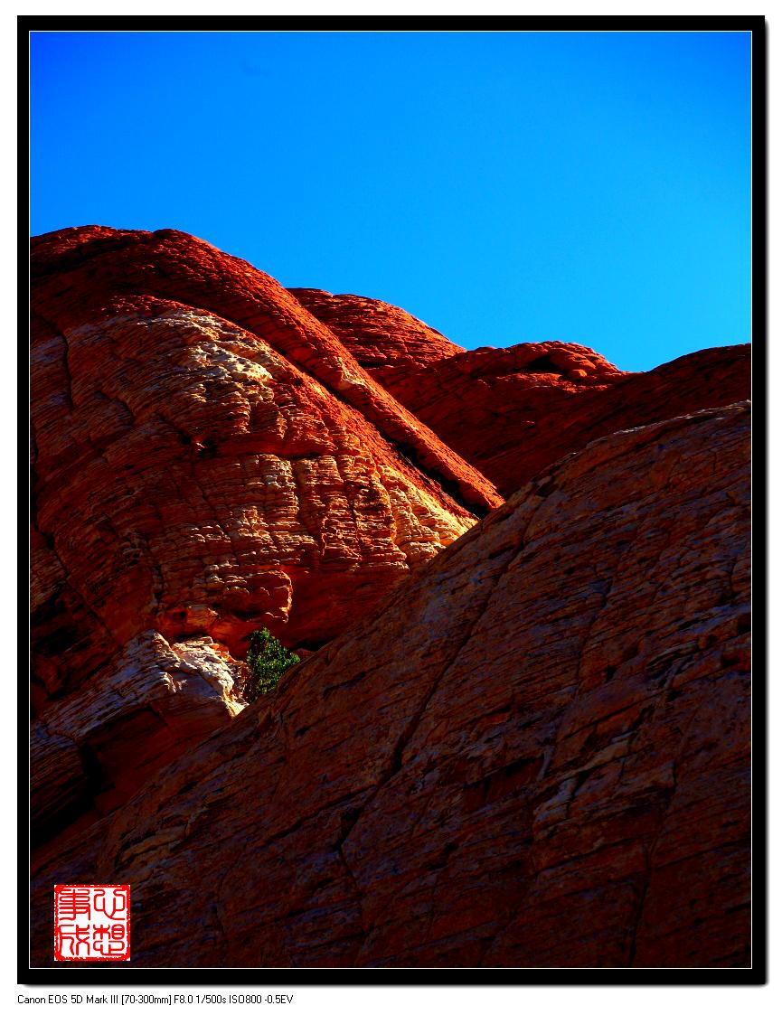 【心想事成】Red Rock Canyon 红石峡谷之旅_图1-6