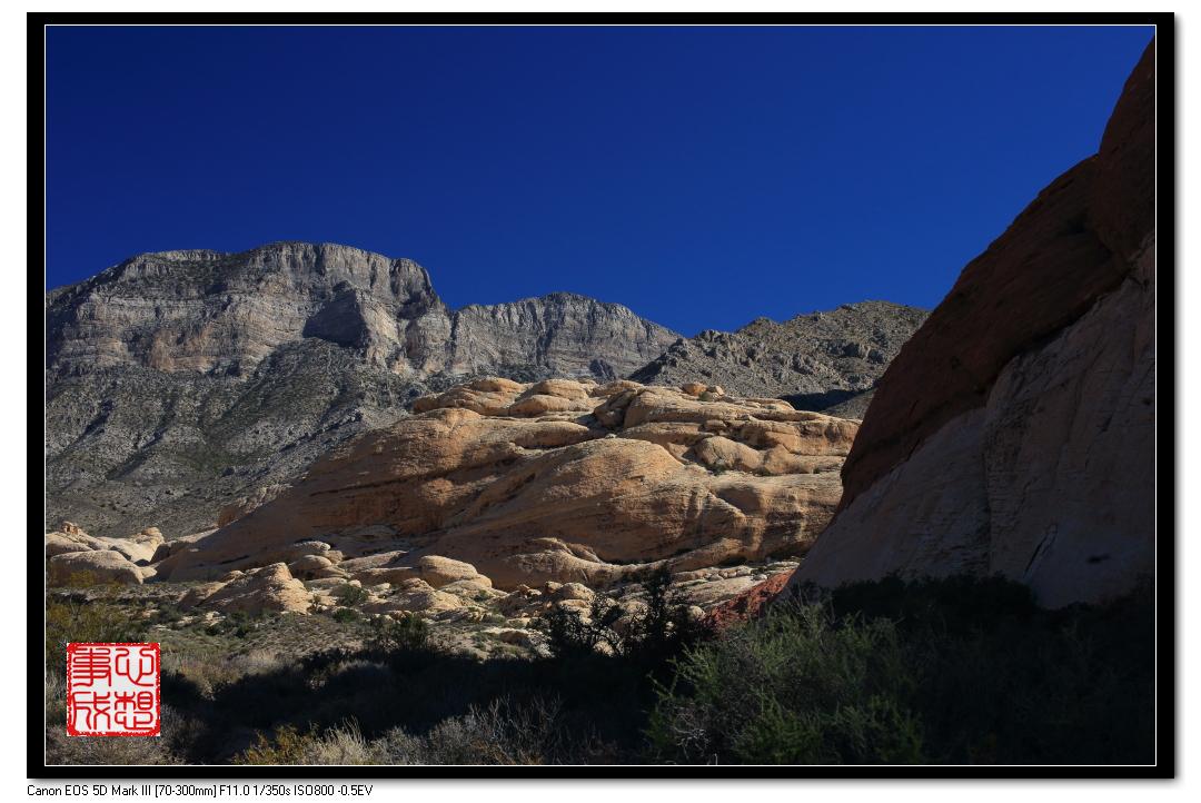 【心想事成】Red Rock Canyon 红石峡谷之旅_图1-7