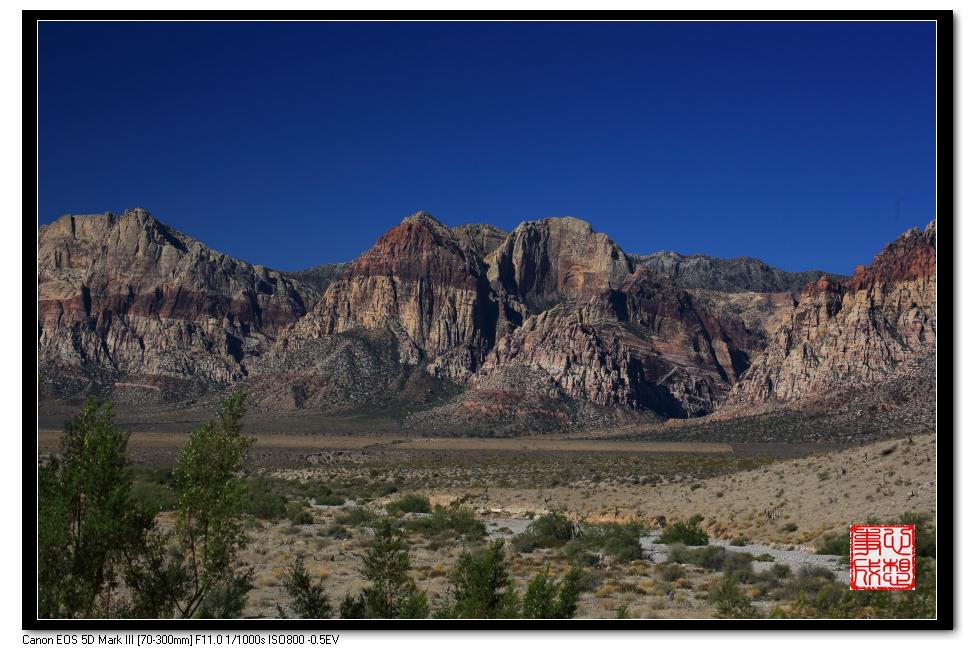 【心想事成】Red Rock Canyon 红石峡谷之旅_图1-12