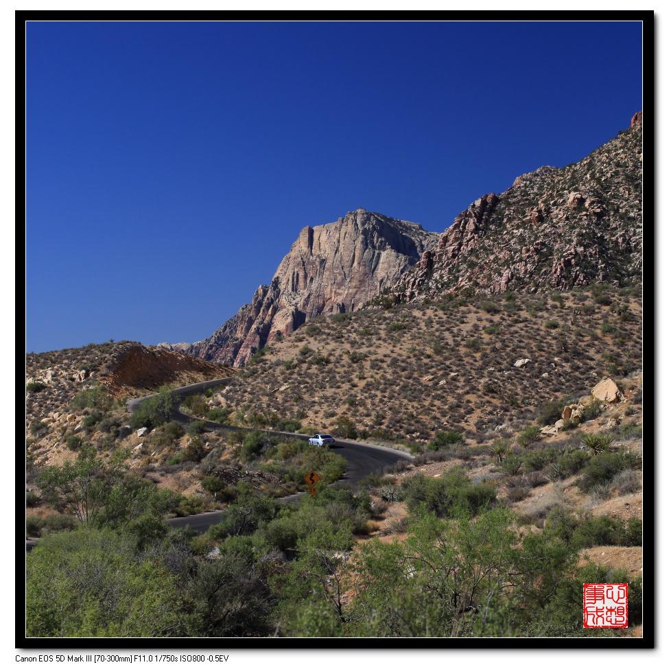 【心想事成】Red Rock Canyon 红石峡谷之旅_图1-10