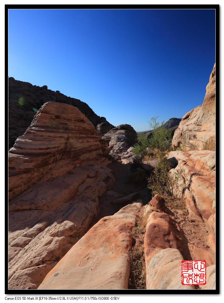 【心想事成】Red Rock Canyon 红石峡谷之旅_图1-13