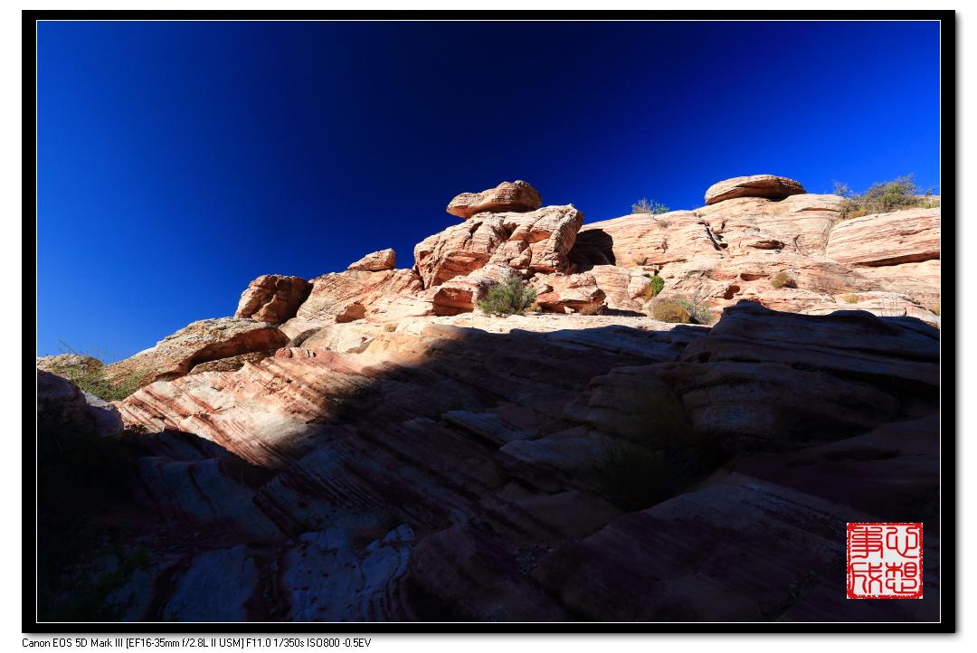 【心想事成】Red Rock Canyon 红石峡谷之旅_图1-18