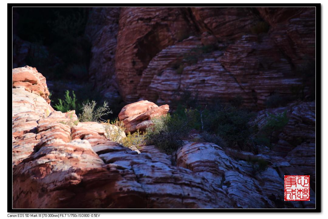 【心想事成】Red Rock Canyon 红石峡谷之旅_图1-28